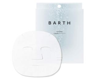 BARTH 中性重炭酸 フェイスマスク 3包入り